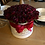 large high quality faux flowers handmade hand made bloom hat box for valentines day gift