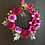sun terrace large door wreath for your home or as a gift for her