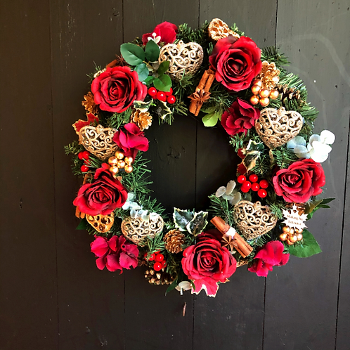 'I'll Be Home For Christmas' Wreath