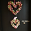enjoy this large heart shaped rummer romance front door decor wreath made by making an entrance