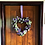 Custom or hand made front door wreaths for home decor, hand made in our workshop in wales