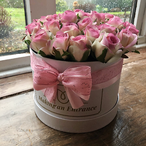 'Forever Love' Large Bloom Box Bouquet of Roses