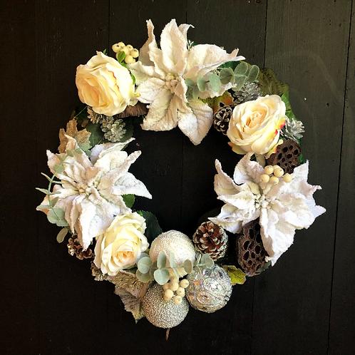 'Let it Snow' Wreath