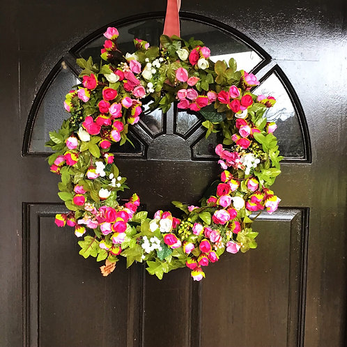 created by craftsmen our artisan door hanger wreath will set you apart