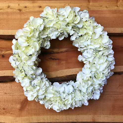 'White Christmas' Wreath