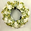 large hand made hydrangea  luxury front door wreath for a gift, brighten up your home with this hanger - faux roses & fuchia