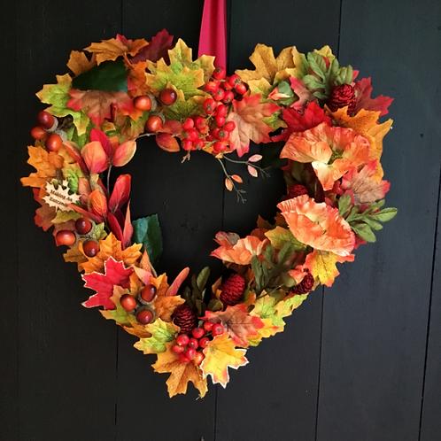 'Amber Glow' Wreath