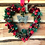 Thumbnail: 'All I Want For Christmas Is You' Midi Wreath (red & gold)