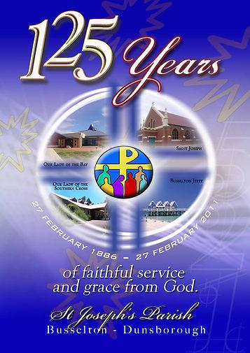 125 years anniversary poster