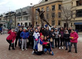 Southwest CPS Students Attend a Cubs Game