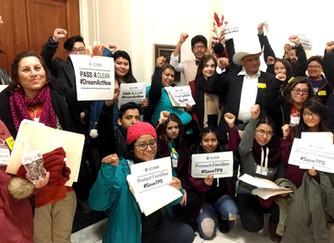 Jóvenes comparten su experiencia sobre su viaje a Washington, D.C. para pedir un DREAM Act limpio