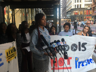 Chicago Youth Demand #PoliceFreeSchools