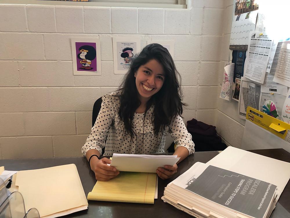 Lynda Lopez retention specialist at Brighton Park Neigborhood Council