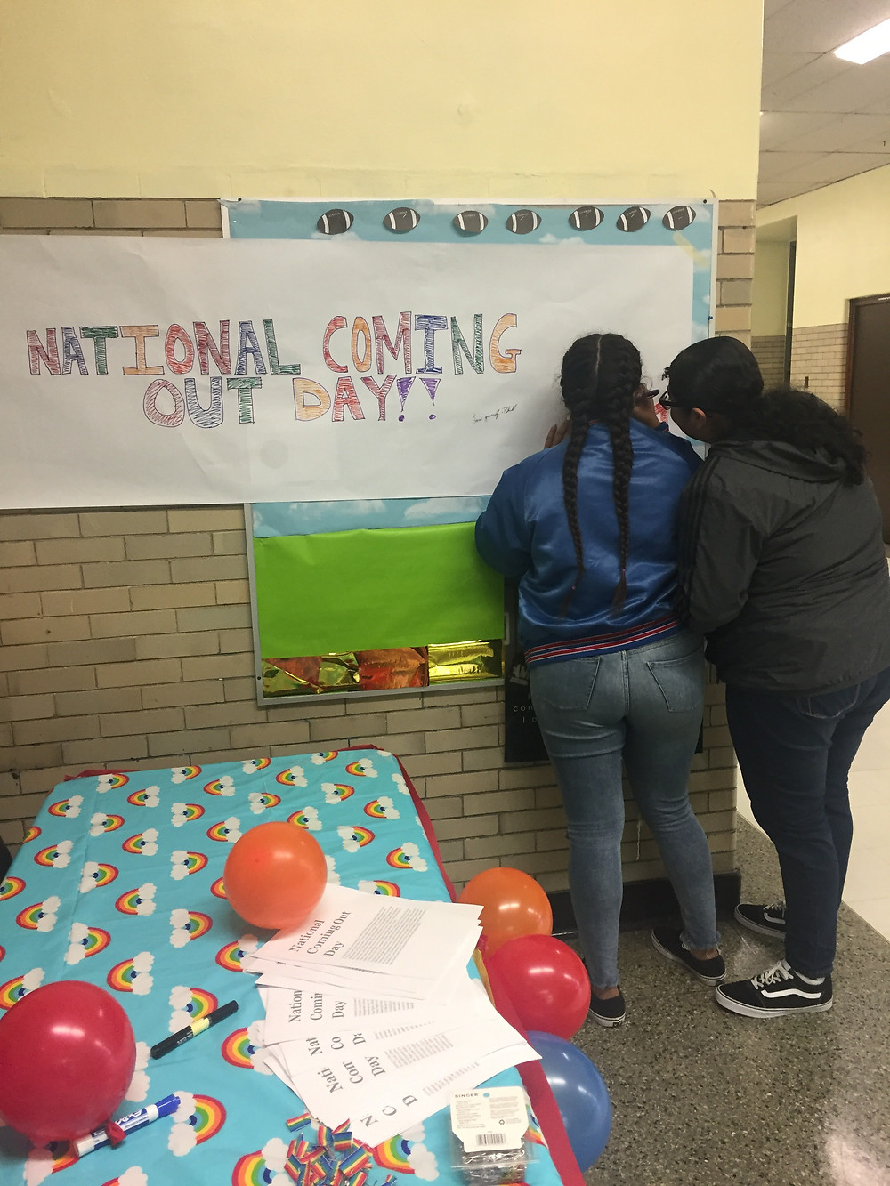National Coming Out Day at Kelly High School in Brighton Park