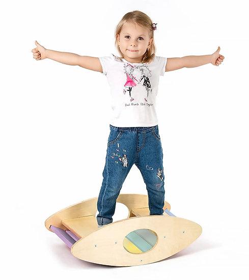 Waldorf Balance Rocker (Pastel)