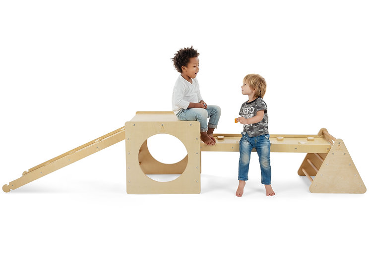 Four Piece Combo Toddler Gym