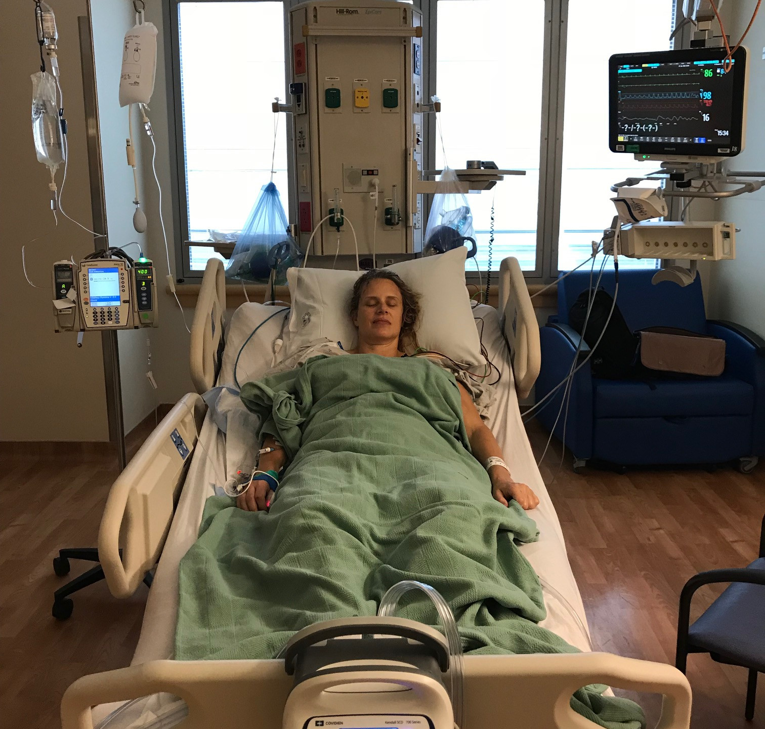 Arriving in the ICU
