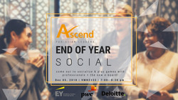 Ascend End of Year Social FLyer