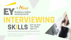 Ascend & EY Interviewing Skills Flyer