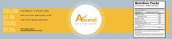 Ascend Water Bottle Design