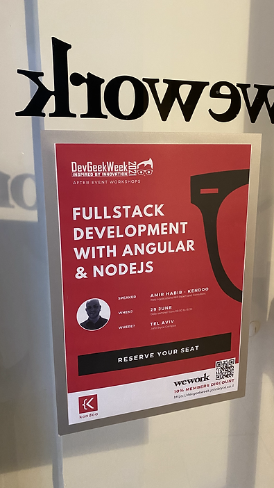 DevGeekWeek Angular and NodeJS