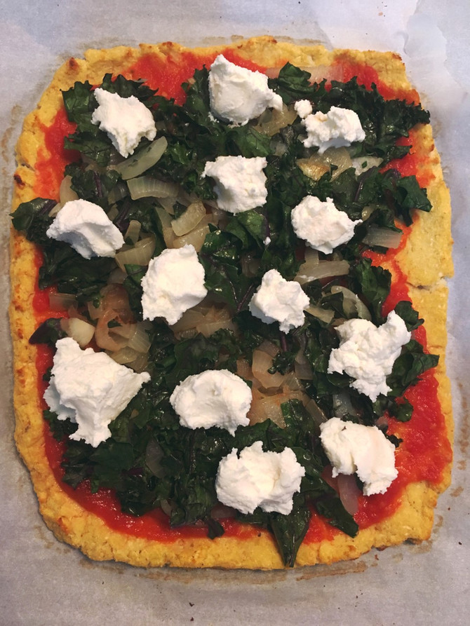 Cauliflower Crust Pizza 🍕