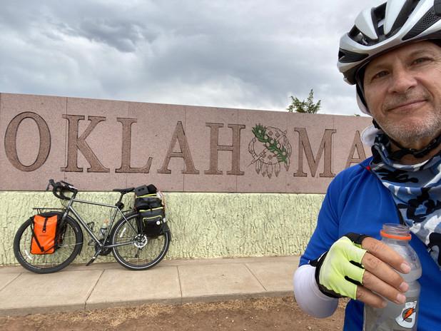 Entering Oklahoma