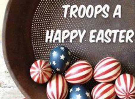 Happy Easter to our Veterans and Active Duty 🇺🇸