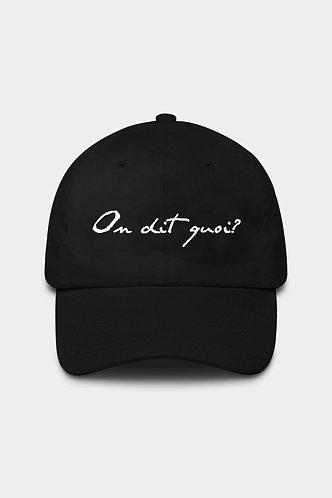 ODQ Signature cap black