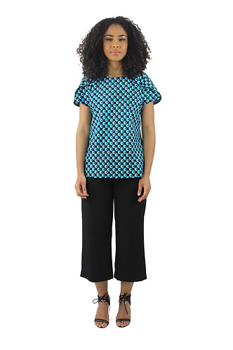 Blouse turquoise Simply wax