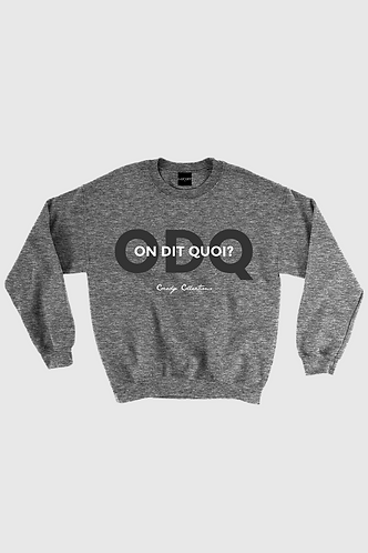 ODQ Crewneck Dark Grey