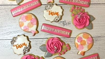 Custom Plus Cookies (1dozen)