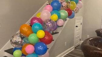 8ft. balloon garland