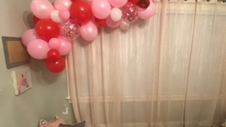 6ft. balloon garland