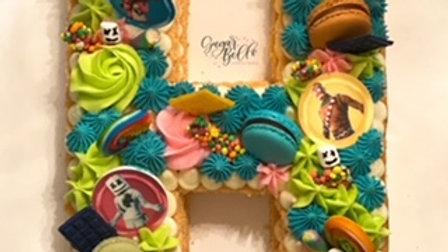 Letter/Number Cake