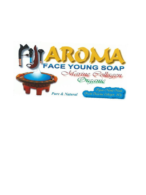 Fiji Aroma Marine Collagen Face Young Soap