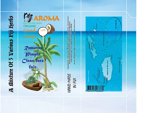 Fiji Aroma Herbal Soap(box packaging)