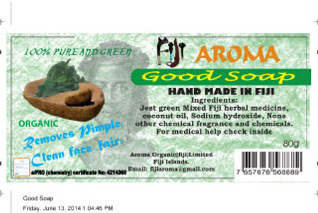 Fiji Aroma Herbal body Soap(plastic packaging)