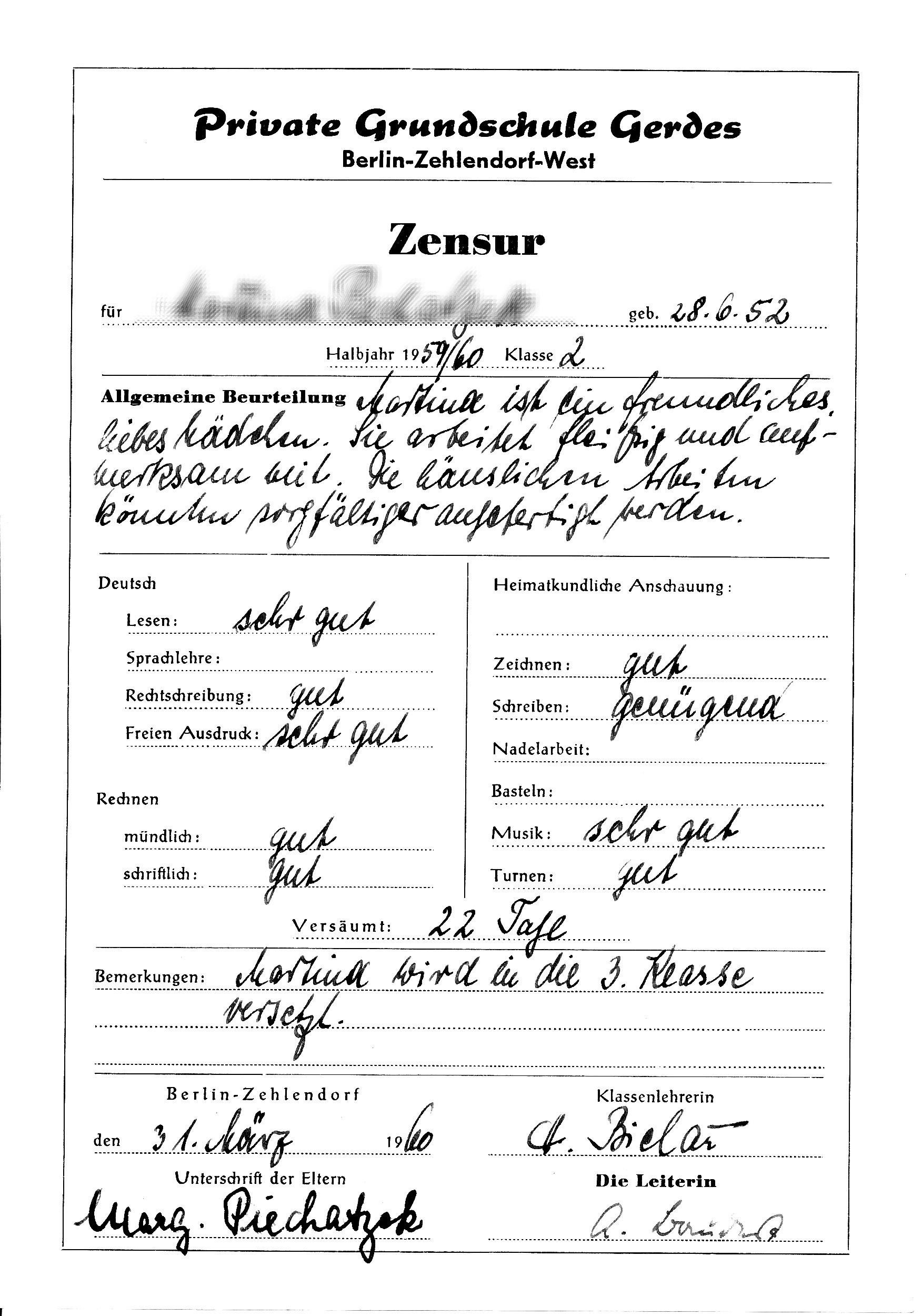 Zeugnis_31.März_1960