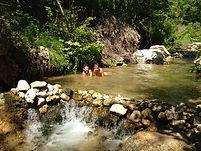 de l'eau dans la Florieye
