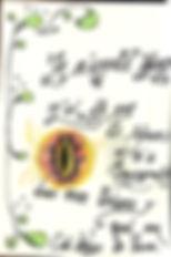 Livre d'or de la tanière de Bilbo illustré par un enfant