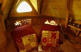 intérieur de la Bastid'âne sur le thème de la Provence