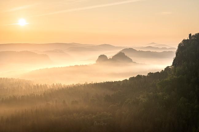 Zauberhafter Morgen