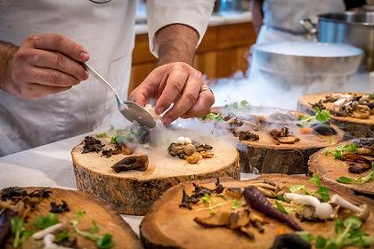 chef-preparing-vegetable-dish-on-tree-sl