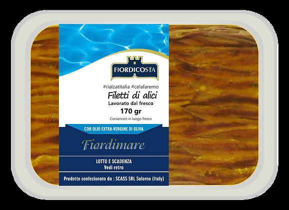 Filetti extra di alici sott'olio