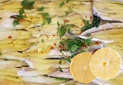 Alici marinate al limone
