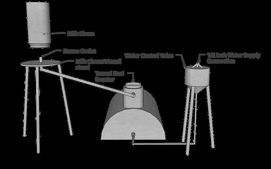 Tunnel Steam Sterilizer