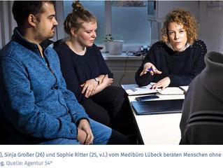 MediBüro: Hilfe für Menschen ohne Papiere - die LN berichtet über unsere Arbeit