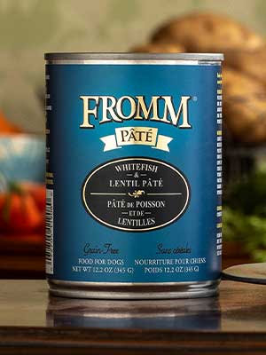Fromm Pate Cans