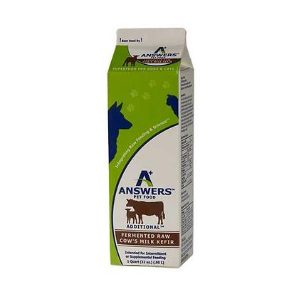 Answers Raw Cow's Milk Kefir